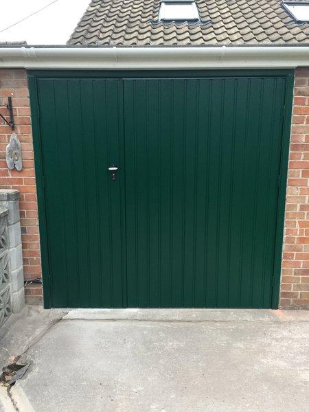 Up over doors ltd garage door repairs and installation in square thumb green vertical sidehinged door solutioingenieria Images