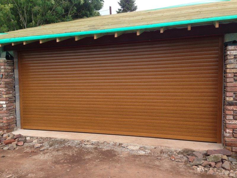 Up over doors ltd garage door repairs and installation in primary thumb wide golden oak roller solutioingenieria Images