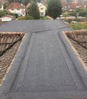 Square thumb homer roofing new flat roof