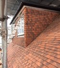 Square thumb homer roofing retile