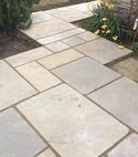 Square thumb natural stone paving  sutton poyntz