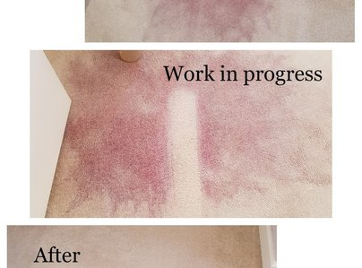 Primary thumb red wine stain removal in solihull