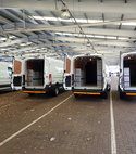 Square thumb ford transit sortimo fleet back