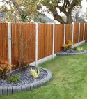 Square thumb fencing driveways patios paving garden maintenance landscaping sunshine gardens christchurch dorset 7