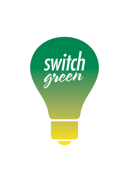 Gallery large switch green