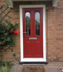 Square thumb red birkdale composite door kenilworth