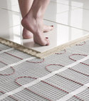 Square thumb underfloor heating installers