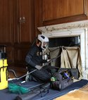 Square thumb chimney sweeping london