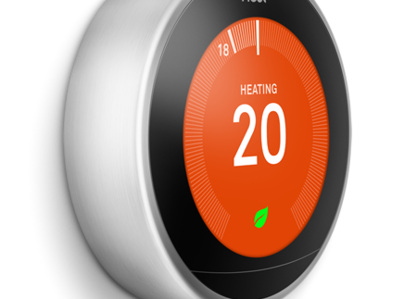 Primary thumb nest thermostat