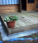 Square thumb rat proofing decking  1