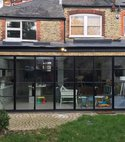 Square thumb rear kitchen dinnig room extension full property refurbishment 2016 london n21
