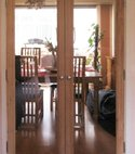 Square thumb french doors southampton