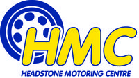 Profile thumb headstone motoring logo